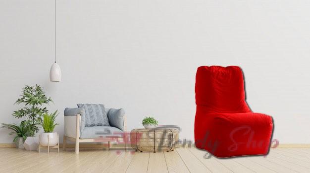Computer Chair Bean Bag Red