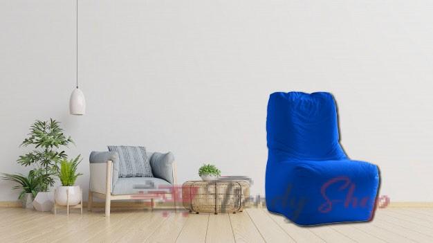 Computer Chair Bean Bag Blue