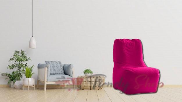 Computer Chair Bean Bag Pink