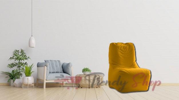 Computer Chair Bean Bag Yellow
