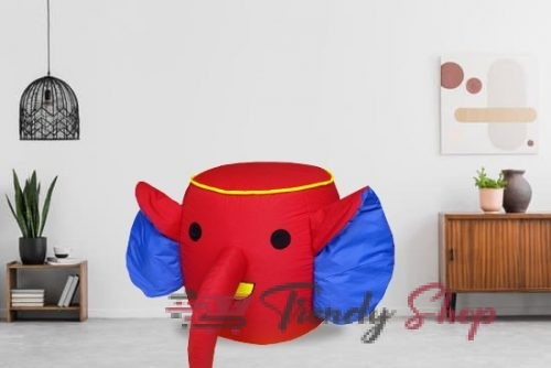Elephant Shape Bean Bag for Kids