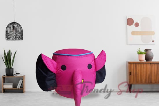 Elephant Shape Bean Bag for Kids