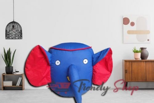 Elephant Shape Bean Bags for Kids