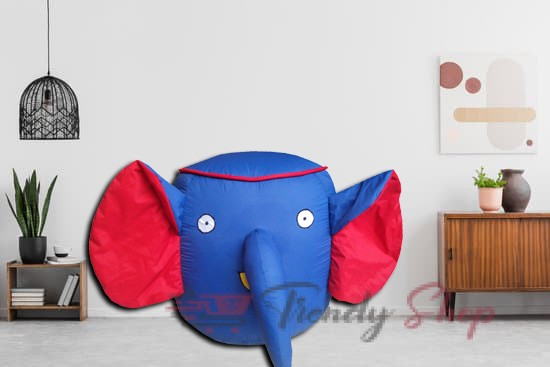 Elephant Shape Bean Bags for Kids