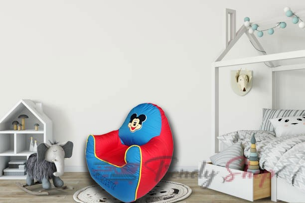 Mickey Mouse Sofa in Red and Blue