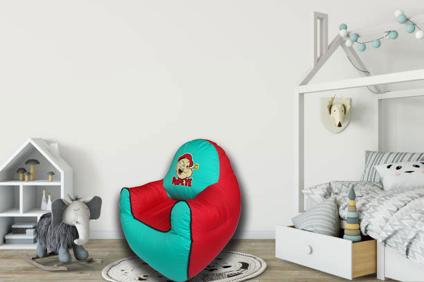 Popeye Kids Sofa in Green and Red