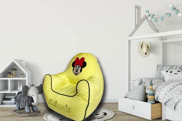 Minnie Kids Sofa in Yellow