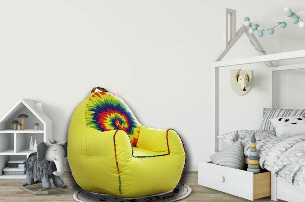 Rainbow Kids Sofa in Yellow