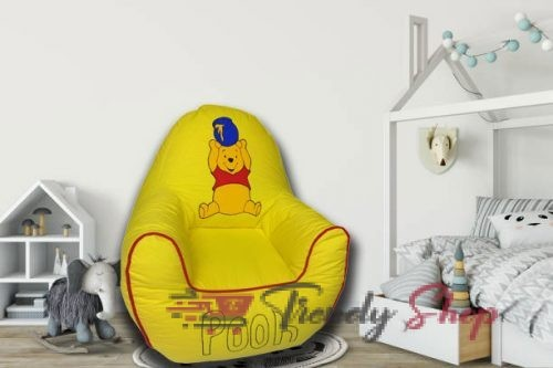 Pooh Kids Sofa in Yellow