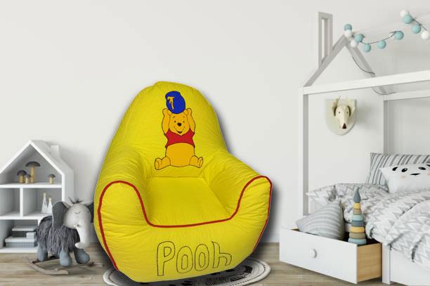 Pooh Kids Sofa in Yellow
