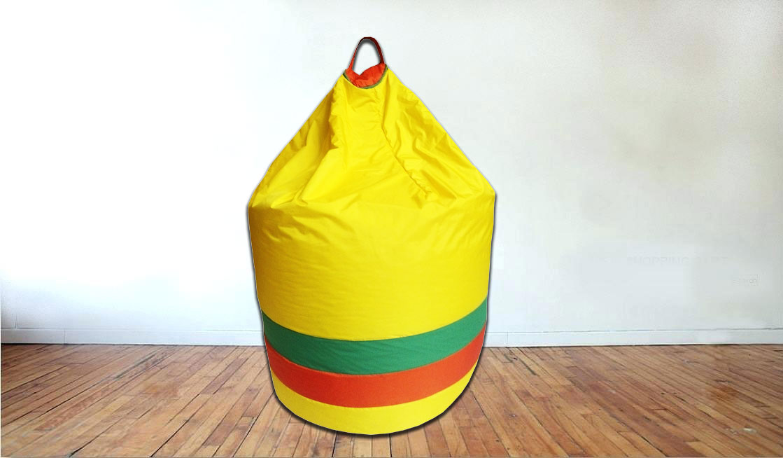 Large Bean Bag in Yellow