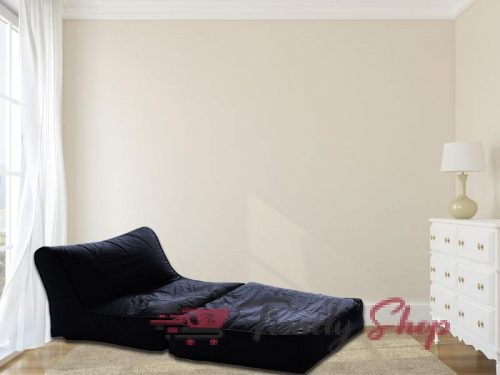 Sofa Cum Bed Bean Bag Black