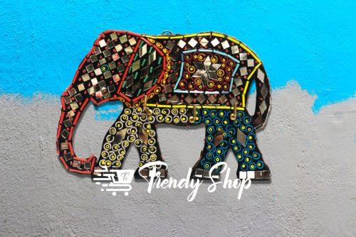 Elephant Shape Handmade Key Hanger