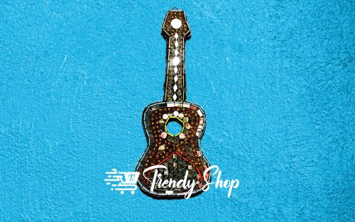 Guitar Shape Handmade Key Hanger