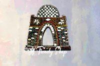 Mazar E Quaid Shape Handmade Key Hanger