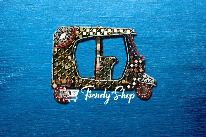 Rickshaw Shape Handmade Key Hanger