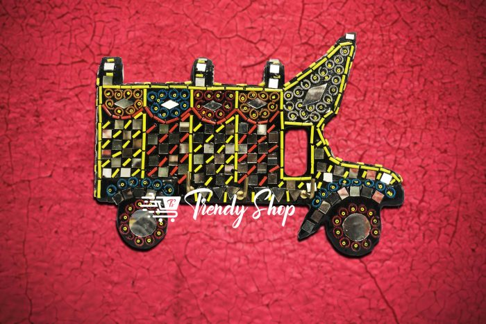 Truck Shape Handmade Key Hanger
