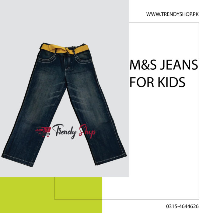 Marks & Spencer Blue Jeans for Kids in Pakistan
