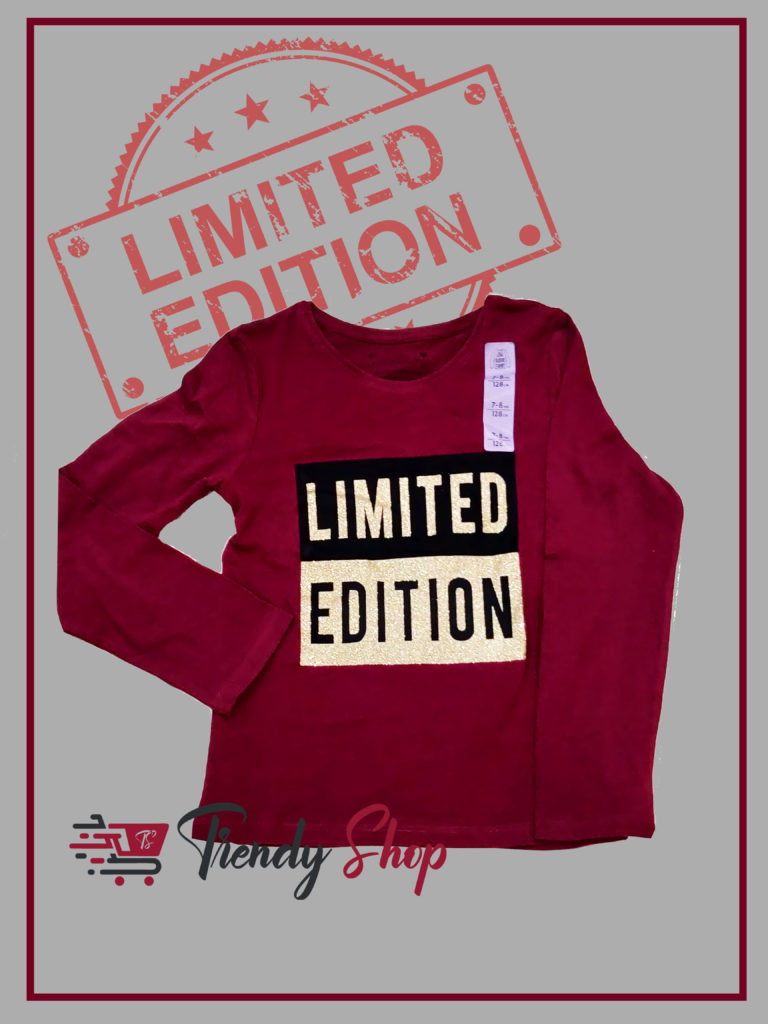 Limited Edition T-Shirt for Girls