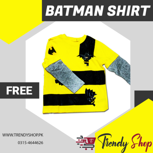 Batman T-Shirt for Kids in Pakistan