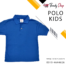 Blue Polo T-Shirt for Kids in Pakistan