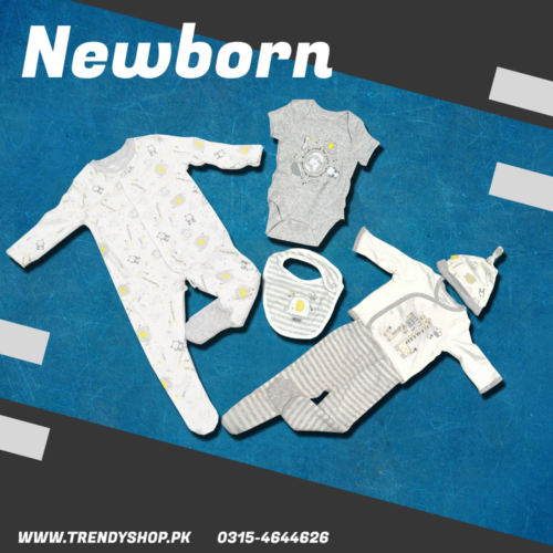 New Born Baby Suit 6 Pieces in Pakistan