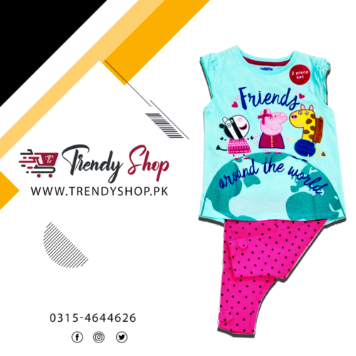 Peppa Pig Suit for little Girls
