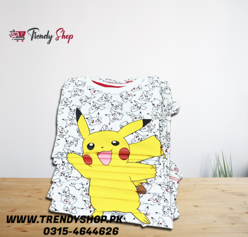 Imported Pokemon T Shirt in Pakistan