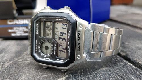 Casio Digital Watch AE-1200WHD-1AVCF-1
