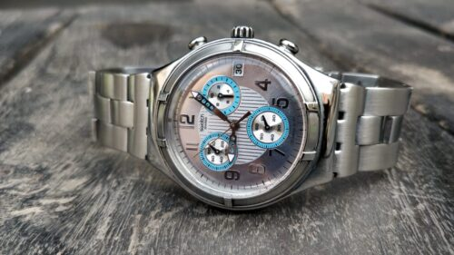 Swatch Swiss Watch Preowned – Silver Chain Strap